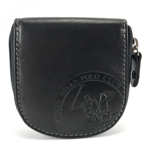 Porta spiccioli Beverly Hills Polo Club CIRCLE BH-1199 NERO