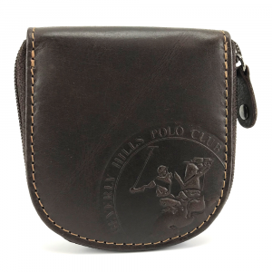 Porta spiccioli Beverly Hills Polo Club CIRCLE BH-1199 T. moro