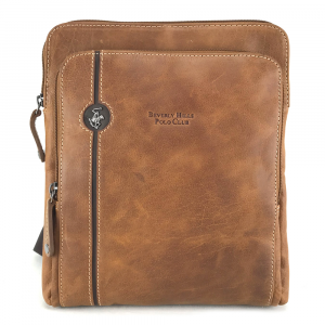 Borsa a tracolla Beverly Hills Polo Club EXPLORE BH-381 BRANDY