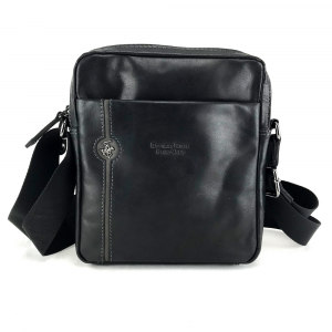 Shoulder bag Beverly Hills Polo Club EXPLORE BH-382 NERO