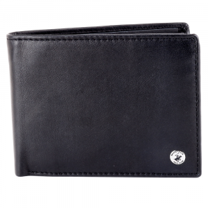 Man wallet Beverly Hills Polo Club CLASSIC BH-933 NERO