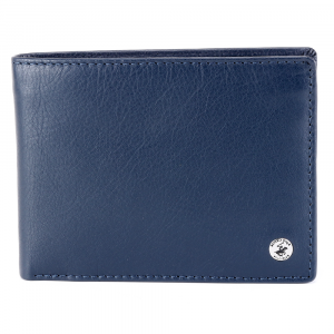 Man wallet Beverly Hills Polo Club CLASSIC BH-933 BLU