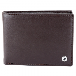 Man wallet Beverly Hills Polo Club CLASSIC BH-933 T. MORO