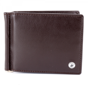 Man wallet Beverly Hills Polo Club CLASSIC BH-932 T. MORO