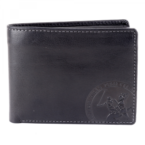 Man wallet Beverly Hills Polo Club CIRCLE BH-1194 NERO