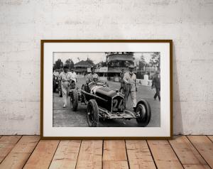 Tazio Nuvolari su Alfa Romeo, 1932