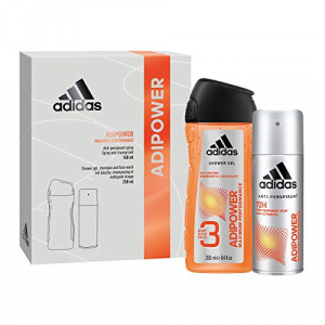 Adidas Shower Gel 250 ml + Deodorante 150 ml Uomo