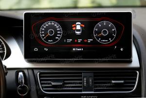 ANDROID 10.25 pollici navigatore per Audi A4/A5/S5/RS4/RS5/8K/B8/8T/4L 2008-2016 GPS WI-FI Bluetooth MirrorLink 4GB RAM 64GB ROM Octa-Core 4G LTE