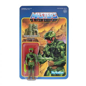 Masters of the Universe ReAction: KOBRA KHAN CAMO (Power-Con Exclusive 2018) by Super7
