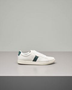 Sneakers Carnaby Evo bianche in pelle