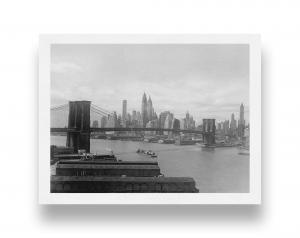 Il ponte di Brooklyn, New York, 1937