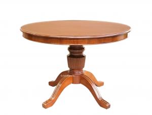 Tavolo rotondo allungabile 110 cm 'Stub'
