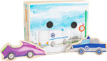 Libro illustrato Polizia, interattivo