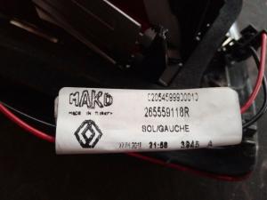 Fanale int. sx usato R. Clio 4à serie dal 2016> SW