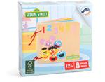 Libro in legno Numeri & Lettere SESAME STREET