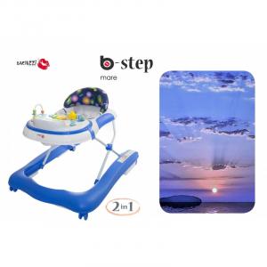 GIRELLO PRIMI PASSI 2 IN 1 BACIUZZI B-STEP - MARE