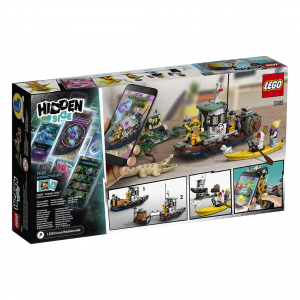LEGO Hidden Side - Il peschereccio naufragato, 70419