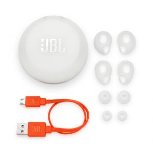 JBL JBLFREEXWHTBT headphones/headset Cuffia Auricolare Bianco