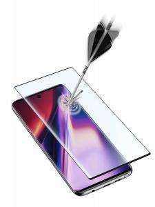 Cellularline Second Glass 3D - Note 10 Vetro temperato curvo, resistente e ultra sottile