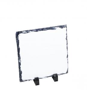 Tavoletta quadrata in ceramica per sublimazione cm.14x14x0,8h