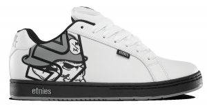 Etnies Metal Mulisha Fader White Black Grey