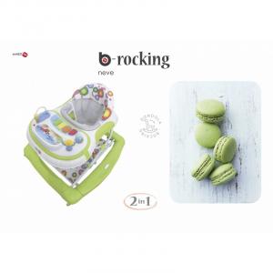 Girello Dondolino per Bambini BACIUZZI B-SWING Neve