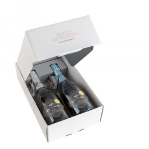 Confezione Regalo 2 Bottiglie Valdobbiadene Prosecco Superiore D.O.C.G.