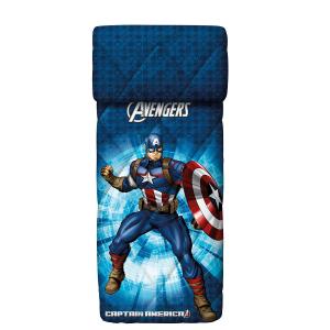 Copripiumino Avengers.Captain America Bassetti Beach Towel Terry 75x150 Pure Cotton Avengers