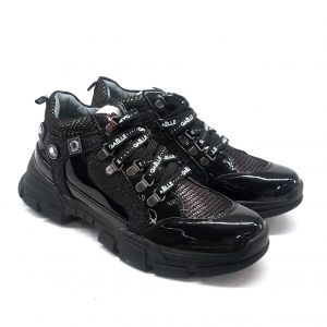 Sneaker nera Gaelle Paris