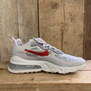 Scarpa Nike Air Max 270 React Bianca