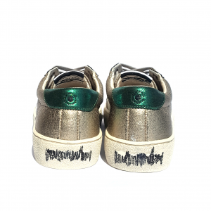 Sneaker oro Moa