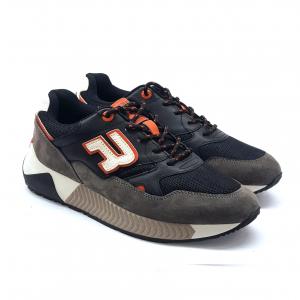 Sneaker nero/grigio/arancio Replay