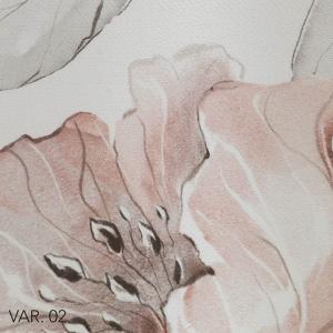 Trapunta Matrimoniale 270x270cm Copriletto Invernale Rivestimento Floreale Colore Rosa 100% Raso Puro Cotone Imbottito in Morbida Microfibra di Poliestere IPOALLERGENICO Lavabile CARINA