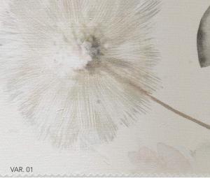 Trapunta Matrimoniale 270x270 cm, Copriletto Invernale Rivestimento Floreale Grigio 100% Raso Puro Cotone, Imbottito in Morbida Microfibra di Poliestere IPOALLERGENICO, Lavabile, SOFFIO