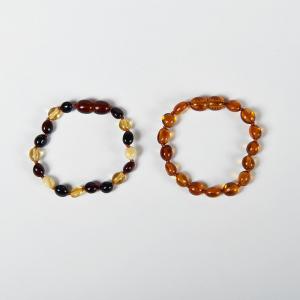 Braccialetto d'ambra bimbo multicolore