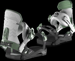 DRAKE Attacchi da snowboard freestyle da uomo RELOAD nero/grigio/verde