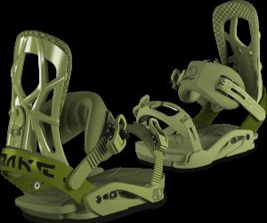 DRAKE Attacchi da snowboard allmountain da uomo FIFTY verde militare