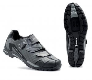 NORTHWAVE Scarpe MTB trail uomo OUTCROSS PLUS grigio antracite/nero