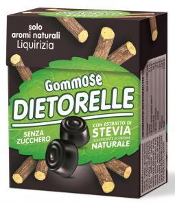 DIETORELLE Caramelle Gommose Liquirizia Astuccio 40 gr