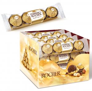 FERRERO ROCHER Snack 4 Cioccolatini 0513 Snack Al Cioccolato