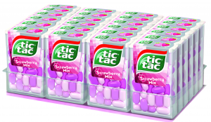 TIC TAC Caramelle Mentine Fragola Mix 499b
