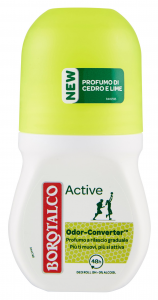 BOROTALCO Deodorante roll-on active cedro/lime 50 ml prodotto per il corpo