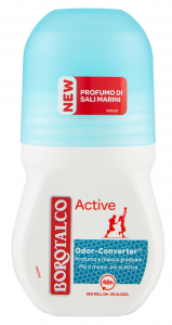 BOROTALCO Deodorante roll-on active sali marini 50 ml prodotto per il corpo