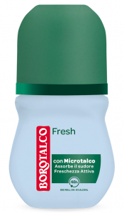 BOROTALCO Deodorante Roll-on Fresh Profumo 50 ml