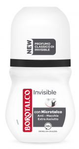 BOROTALCO Deodorante Roll-on Invisible Profumo 50 ml