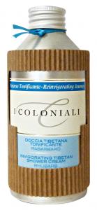 I COLONIALI Doccia Tonificante RABarbaRO 250 ml Saponi E Cosmetici