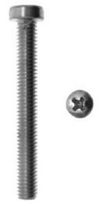 Set 200 Vite Metallo Inox Testa Cilindrica Croce 5X50 E-100 Bulloneria-Viteria