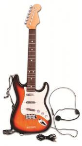 BONTEMPI Chitarra Rock Elettrica A 6 Corde. Prodotto Accordabile E Dai Suoni