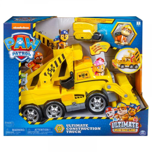 SPIN-MASTER Pawpatrol Rubble Mega Construction Personaggi E Playset Maschili