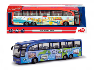 SIMBA Dickie Bus Turismo Cm 30 2 Assortito Camper Pullman Autobus Tram Gioco 853